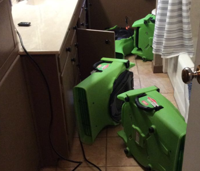 Water can't hide from SERVPRO of Wichita Falls