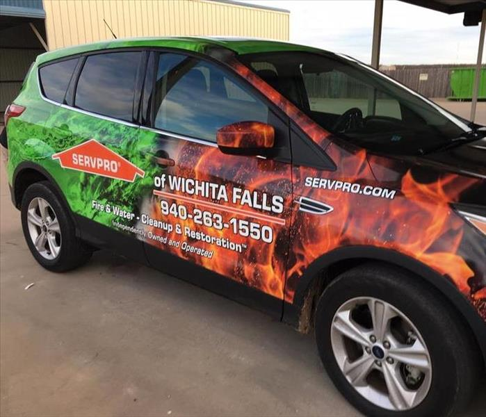 SERVPRO of Wichita Falls new car
