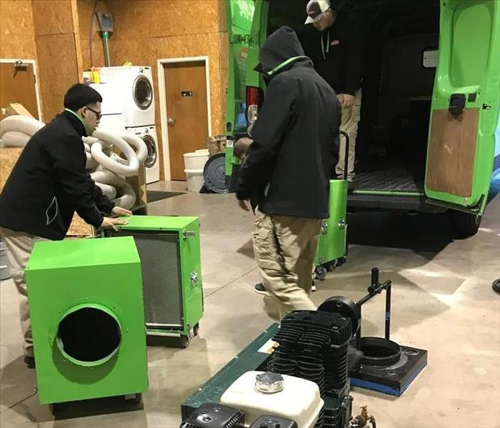Storm Damage SERVPRO of Wichita Falls is ready to help those affected by the arctic blast