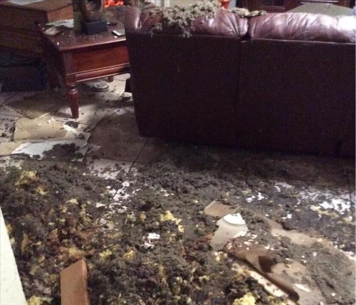 Fire Damage Fire damages local home, SERVPRO of Wichita Falls restores it