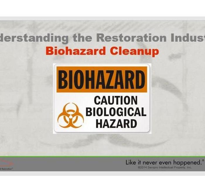 Biohazard Exposure to biological and chemical contaminants can pose serious health consequences.